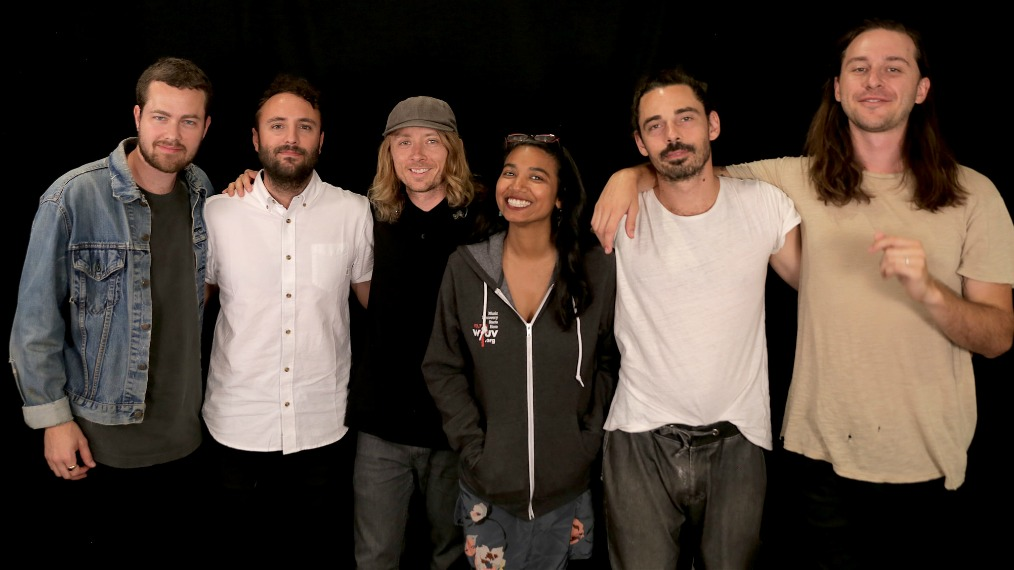 Local Natives at WFUV with Alisa Ali