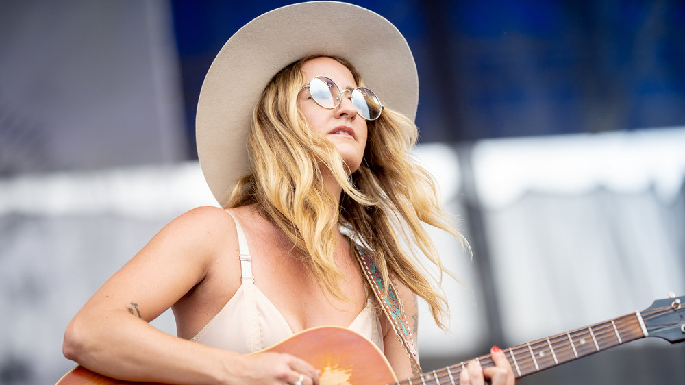 Margo Price at the Newport Folk Festival (photo by Adam Kissick/NPR)