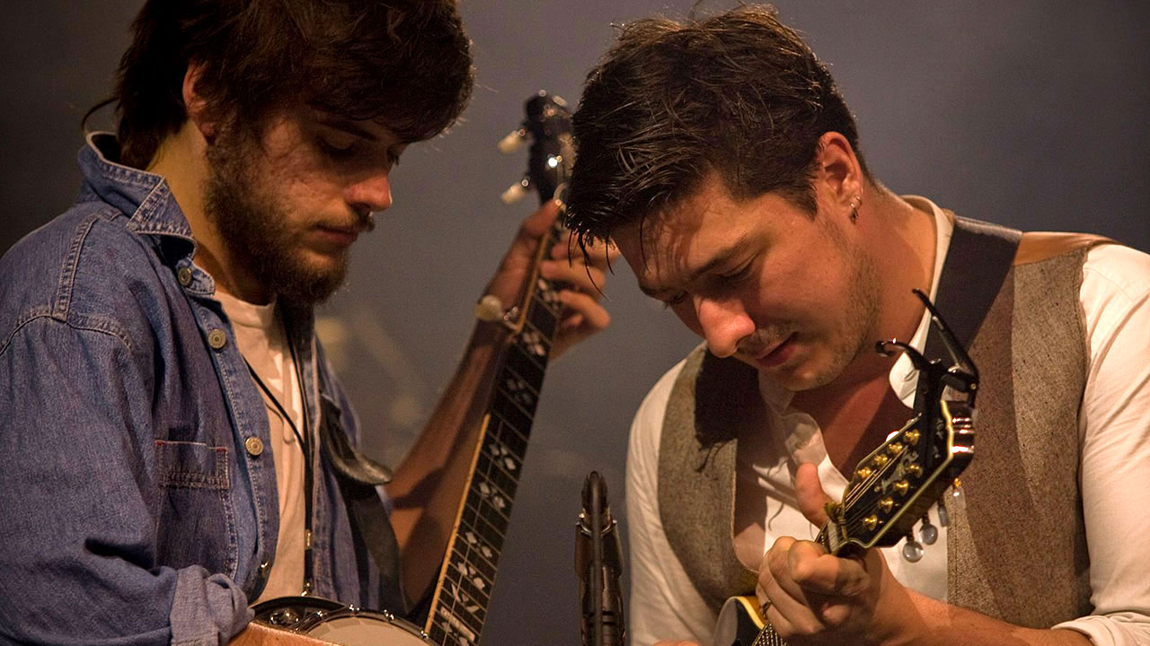 Winston Marshall and Marcus Mumford