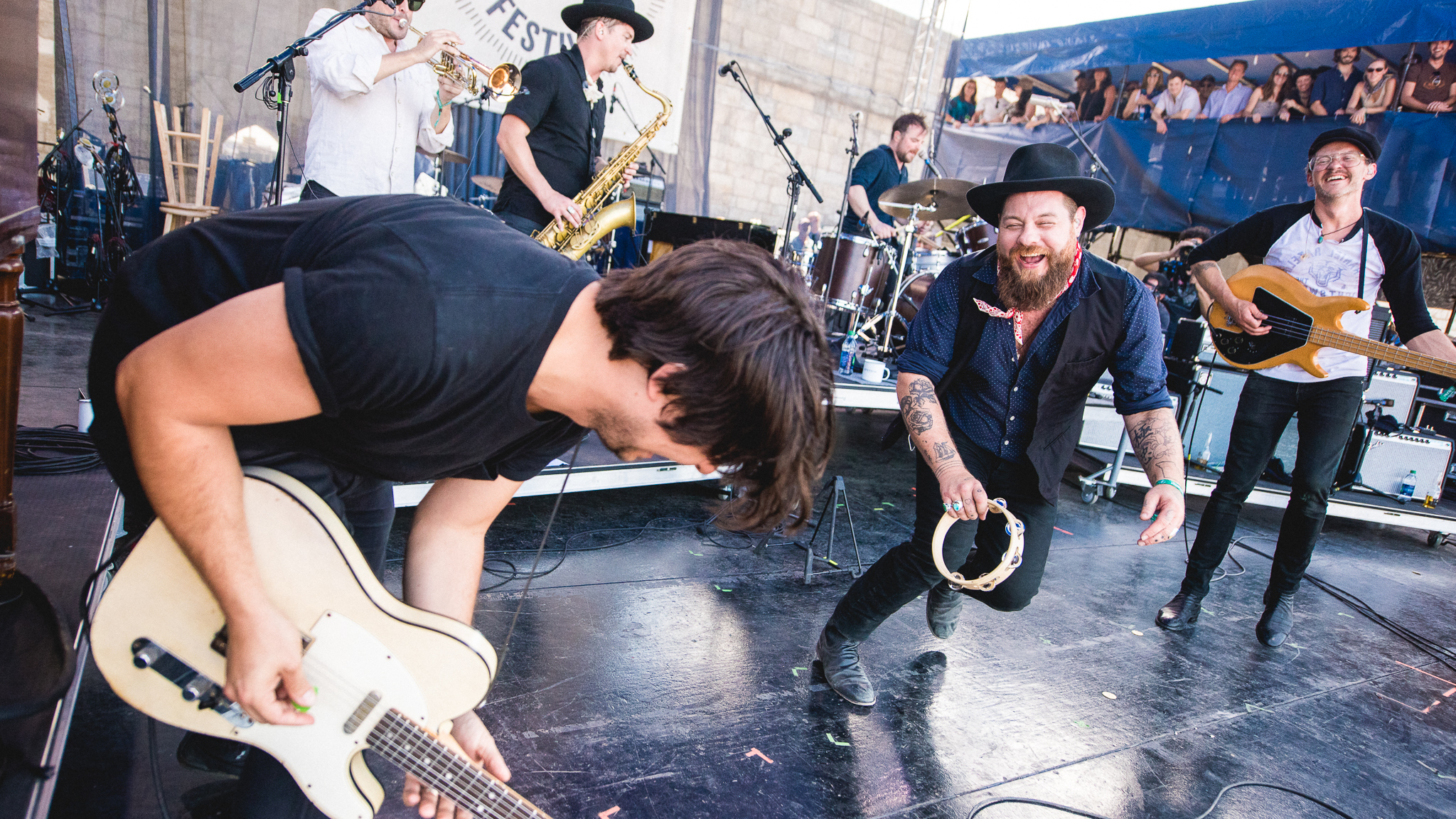 Nathaniel Rateliff & The Night Sweats, Live In Concert: Newport Folk