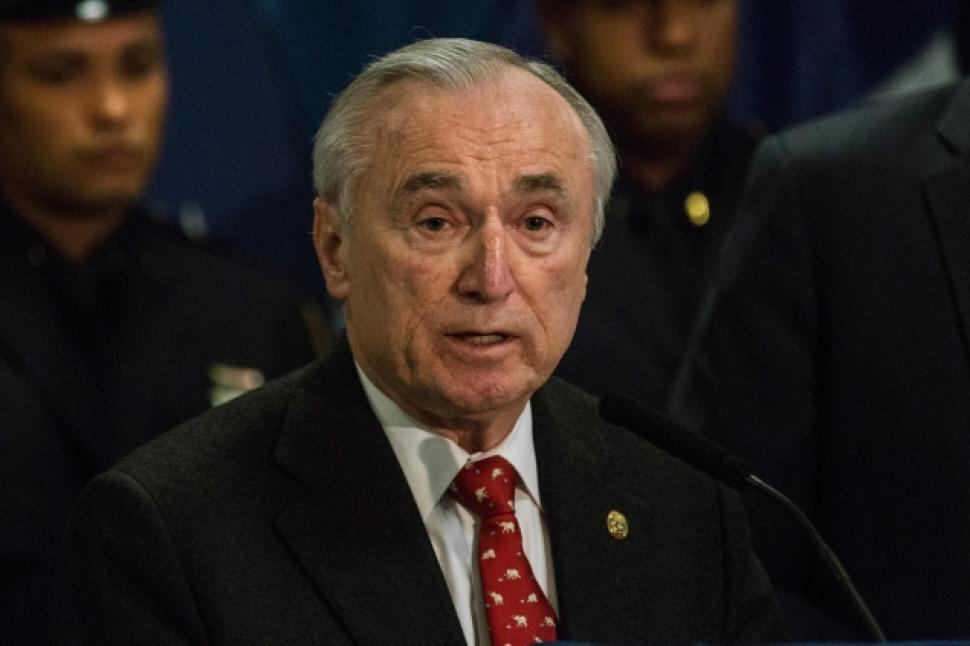 Protesters: Fire NYPD Commissioner Bratton