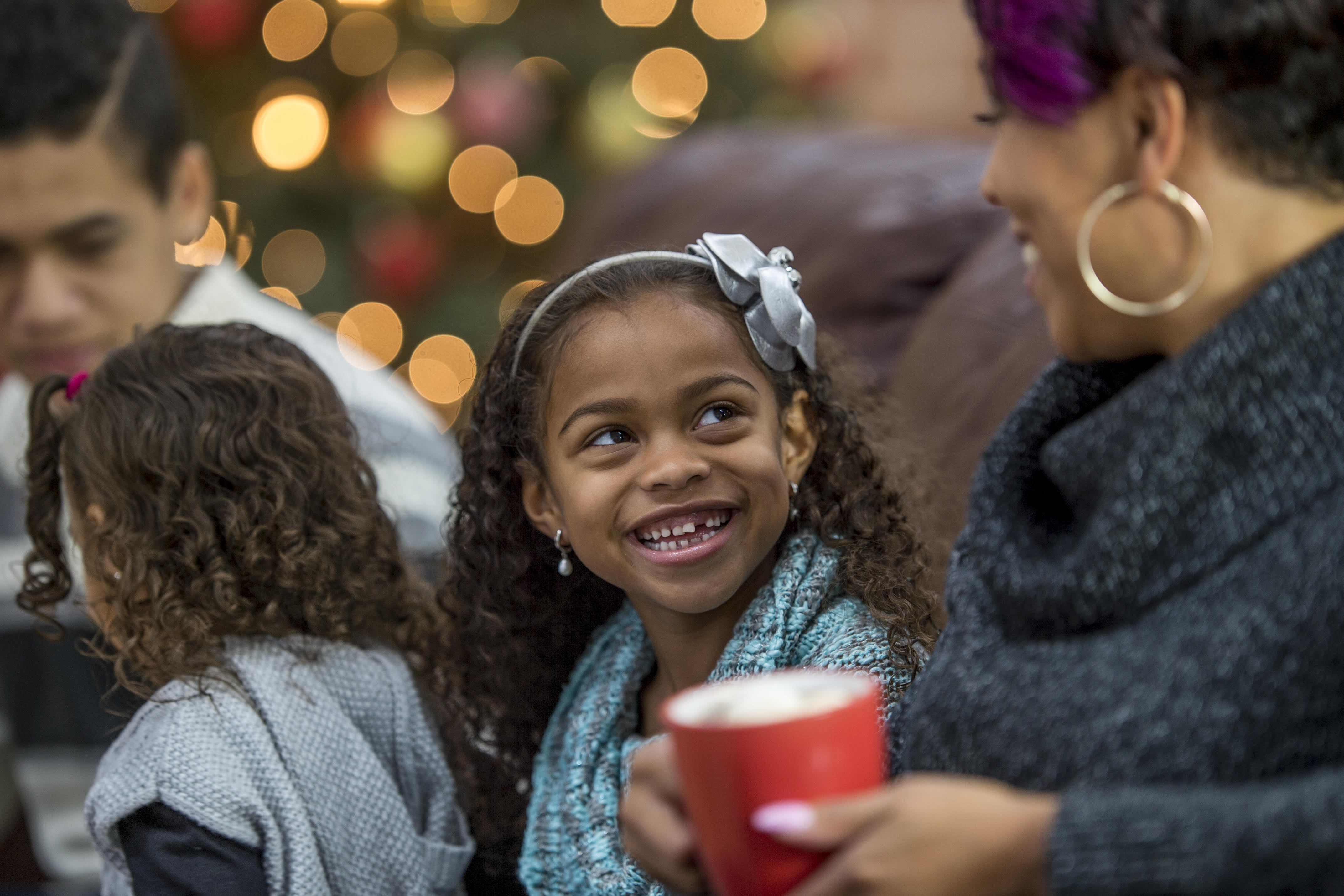 Rising Ground, a mental health organization helps Bronx families cope with holiday stress.