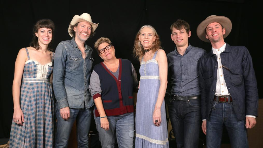 Dave Rawlings Machine with Rita Houston at WFUV