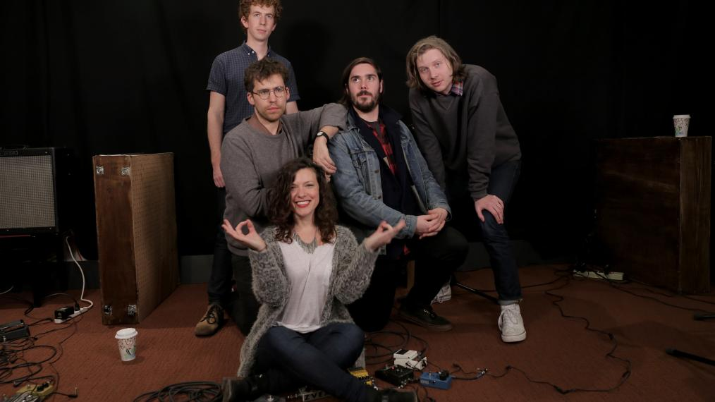 Parquet Courts with Carmel Holt at WFUV