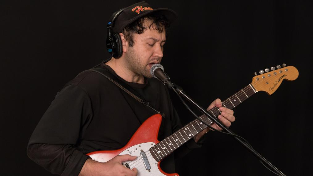 Unknown Mortal Orchestra's Ruban Nielson (photo by Brian Gallagher)
