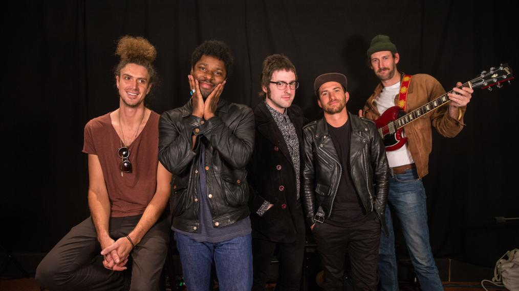 Curtis Harding and band at WFUV