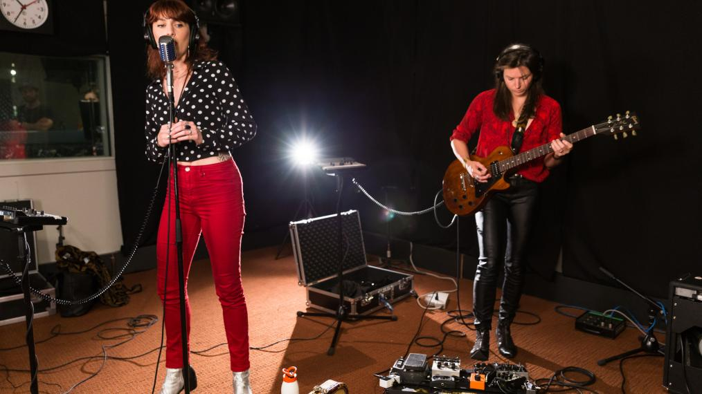 Thunderpussy at WFUV