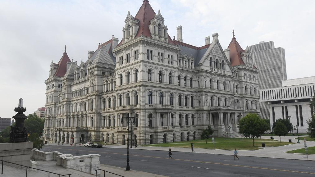 Albany, State Capitol, New York State Legislature