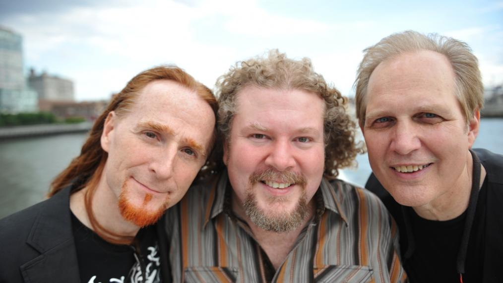 Pat Wictor, Joe Jencks, Greg Greeenway (PR photo by Mazlish)