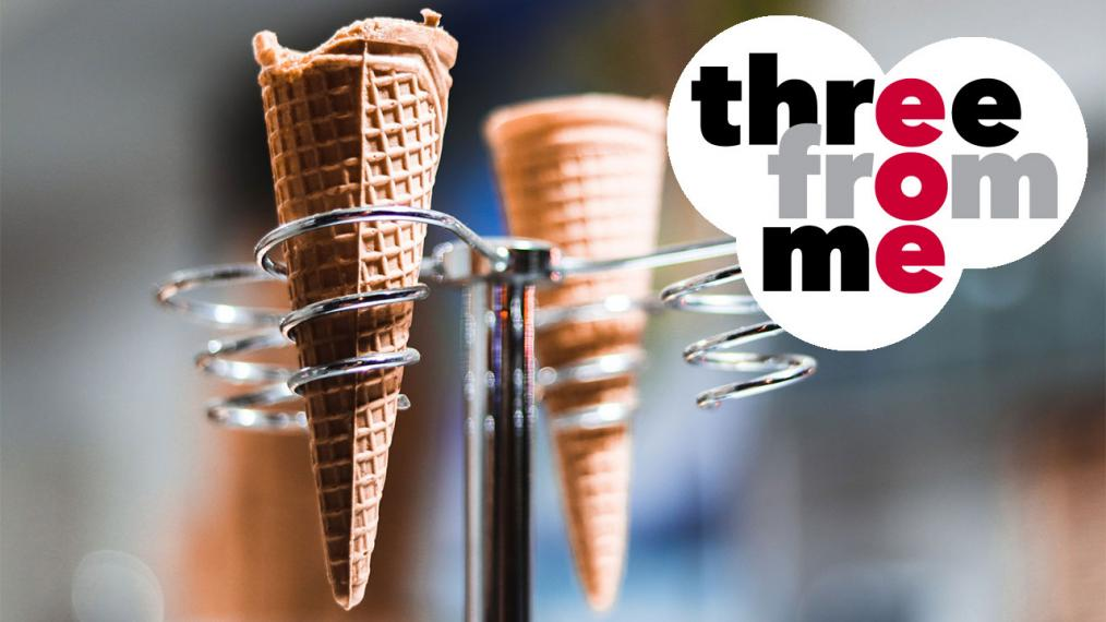 Sugar cones ... now where's the ice cream? (photo courtesy of Pexels)