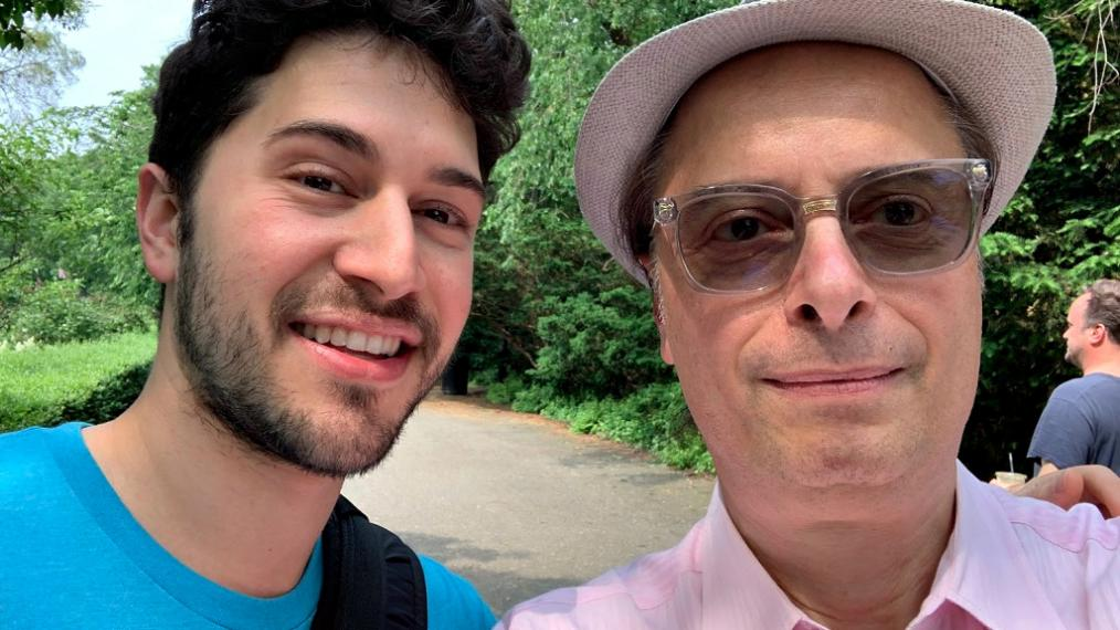 "Selfie time: Emmet Cohen and ""Cavalcade"" host Paul Cavalconte (photo courtesy of Paul Cavalconte)"