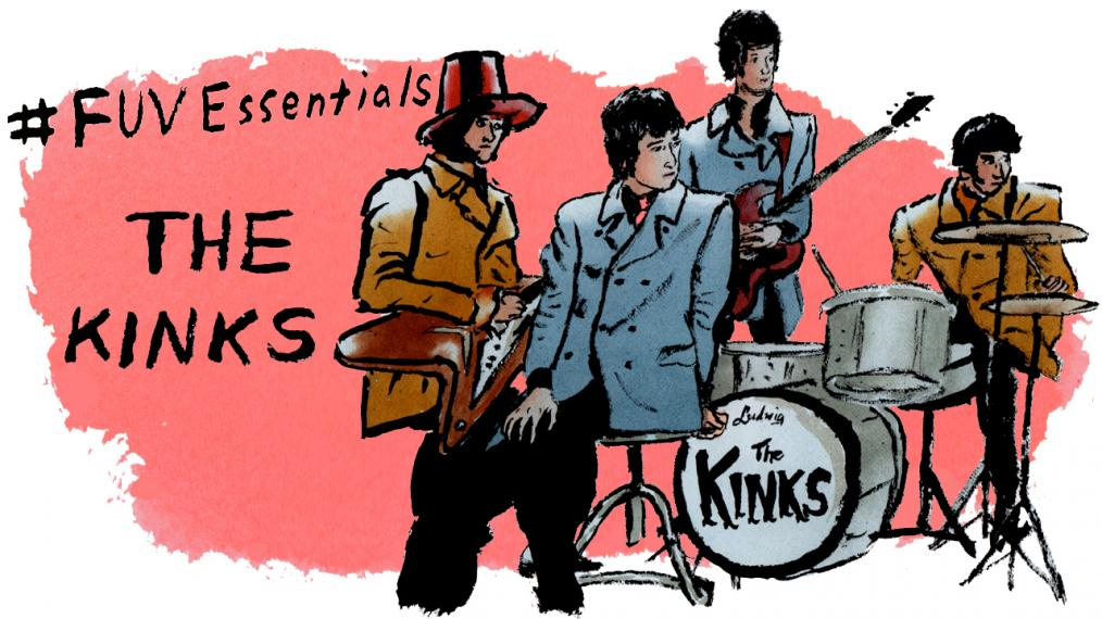 The Kinks (illustration by Andy Friedman)