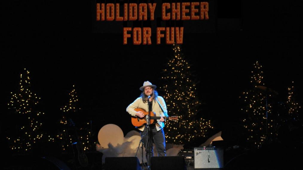 Jeff Tweedy at Holiday Cheer for FUV 2017 (photo by Neil Swanson/WFUV)