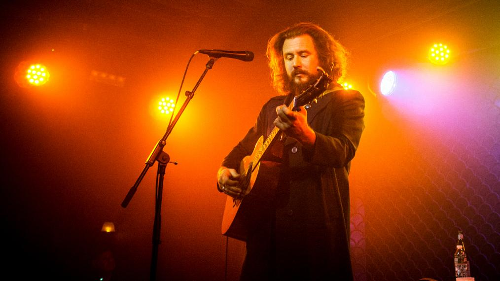 Jim James (photo by Gus Philippas/WFUV)