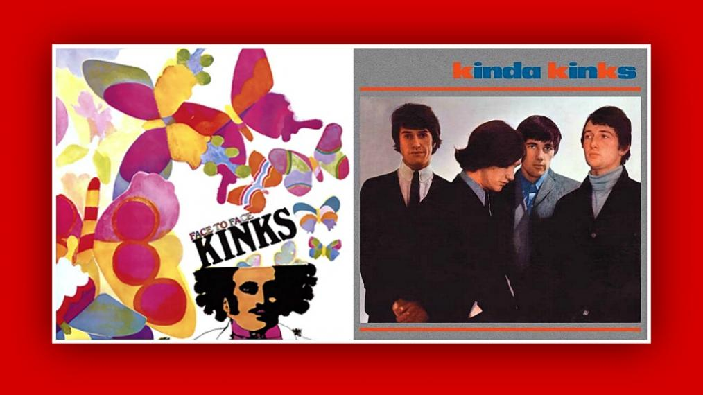 Kinks album covers
