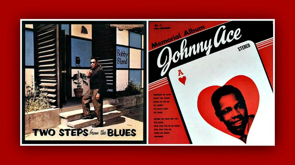 Bobby Bland and Johnny Ace album covers