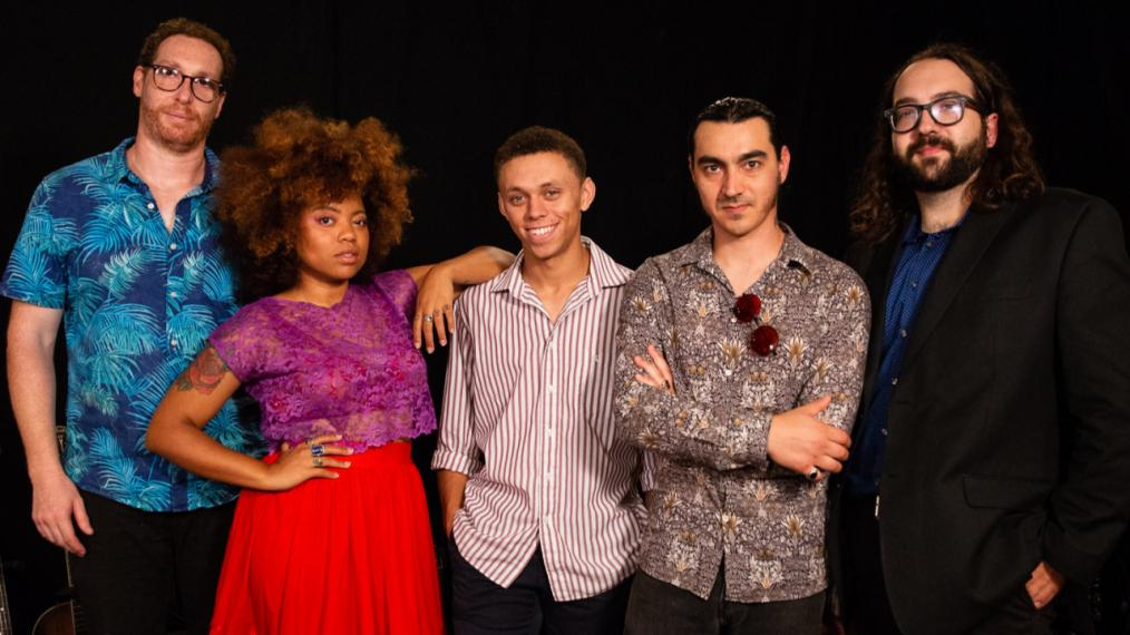 Seratones in Studio A (photo by Jeffrey Pelayo/WFUV)