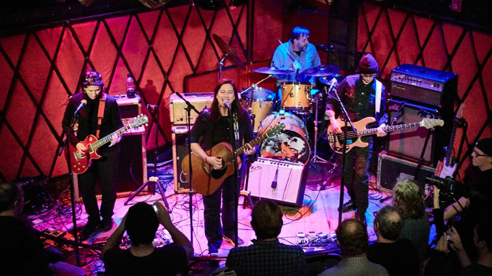 The Breeders (photo by Gus Philippas/WFUV)