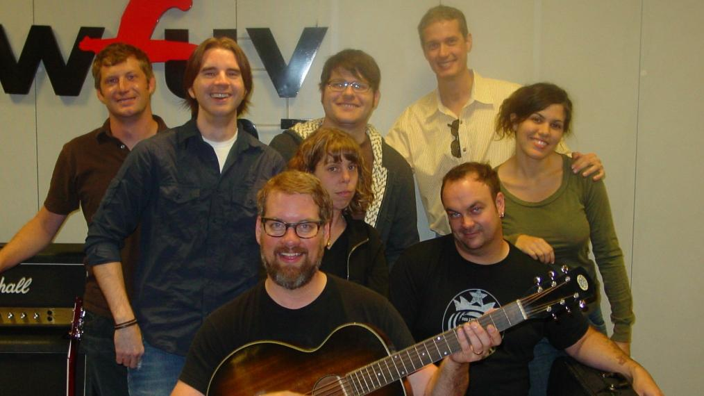 The Decemberists with Russ Borris and Ed Pinka at FUV