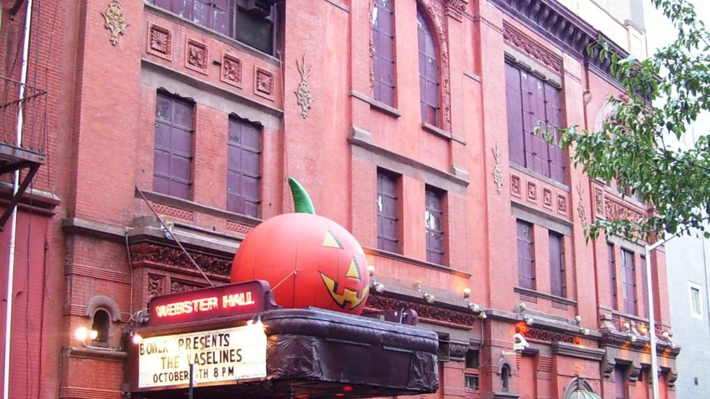 Webster Hall in Greenwich Village before it closed for renovations