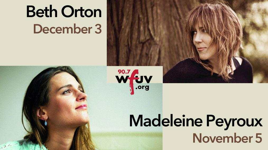 'FUV Live at Zankel Hall' 2016: Beth Orton and Madeleine Peyroux