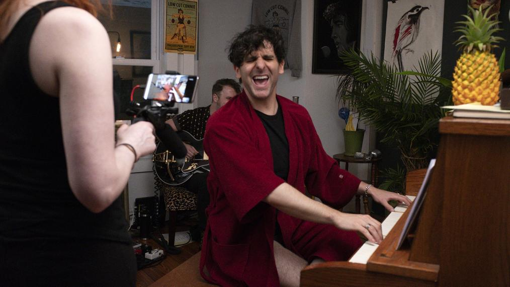 """Marquee Live at Home"" with Low Cut Connie (photo courtesy of the artist)"