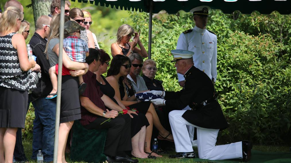 Funeral of Sgt. Carson Holmquist