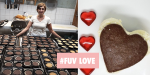 Lisa Cotteglio bakes 150 cheesecakes for the homeless