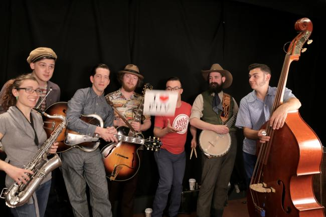 Pokey LaFarge and band