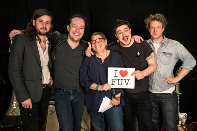 Mumford and Sons with Rita Houston