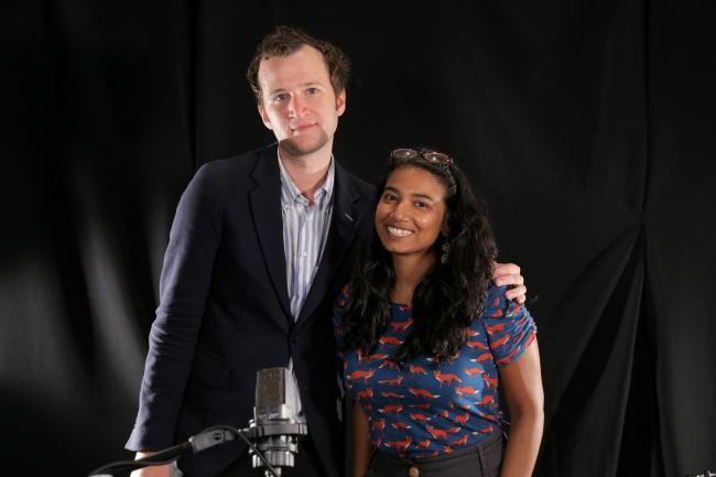 Baio with Alisa Ali at WFUV