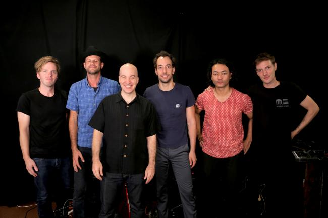 Albert Hammond Jr. with band and Eric Holland at WFUV
