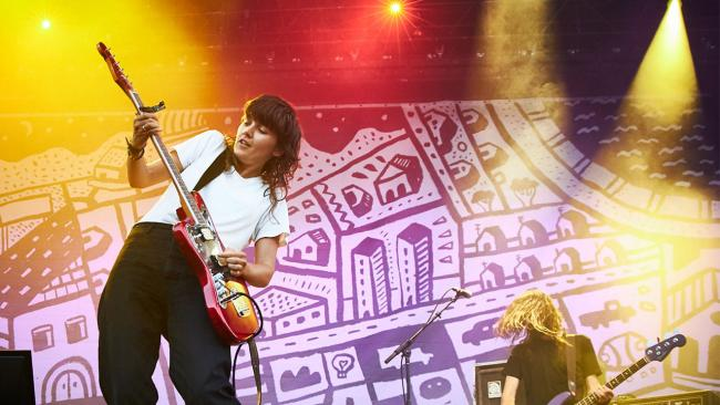 Courtney Barnett (photo by Gus Philippas/WFUV)