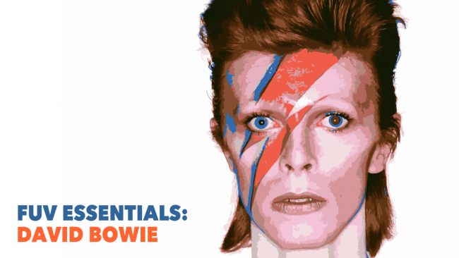 David Bowie (photo by Brian Duffy for the cover of 'Aladdin Sane')