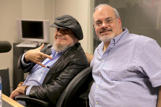 Dr. John and Darren DeVivo (photo courtesy of WFUV)