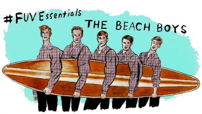 The Beach Boys (illustration by Andy Friedman)