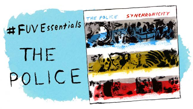 The Police (illustration by Andy Friedman)