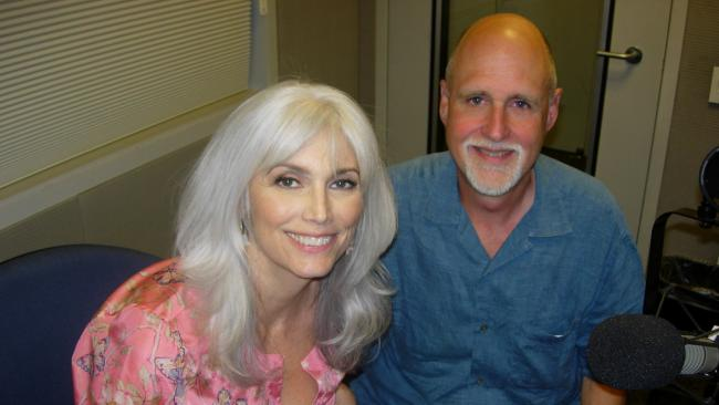 Emmylou Harris and John Platt (photo courtesy of WFUV)