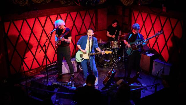 Jealous of the Birds at Rockwood Music Hall (photo by Gus Philippas/WFUV)
