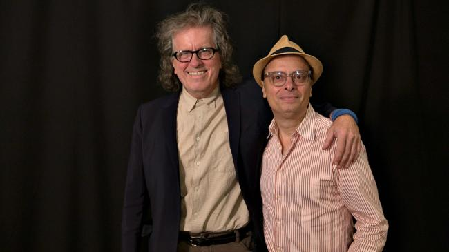 Mark Mulcahy and Paul Cavalconte (photo by Thomas Koenig and Michael L'Abbate/WFUV)