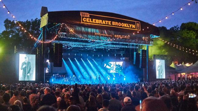 The National at the BRIC Celebrates Brooklyn! Festival (photo by Gus Philippas/WFUV)