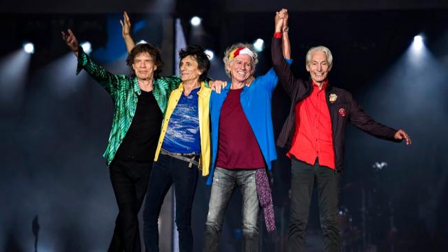 The Rolling Stones (photo by Andrew Timms, PR)