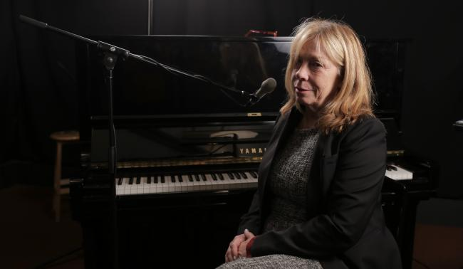 Rickie Lee Jones in Studio A