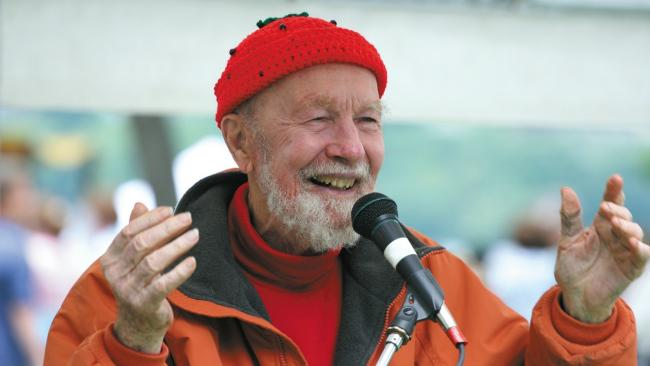 Pete Seeger (Photo courtesy of Appleseed Records)