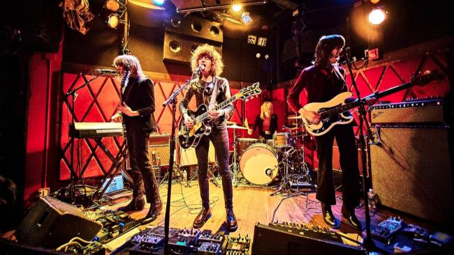 Temples (photo by Gus Philippas for WFUV)