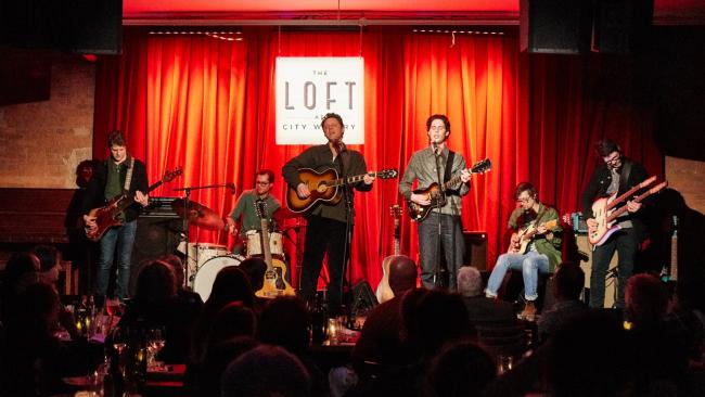 The Cactus Blossoms at The Loft at City Winery (photo by Gus Philippas/WFUV)