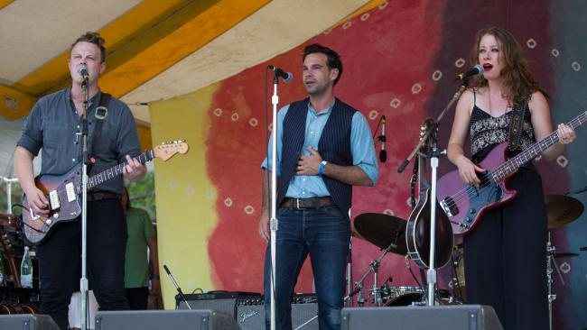 The Lone Bellow at Clearwater 2015 (Photo by Guis Philippas/WFUV)