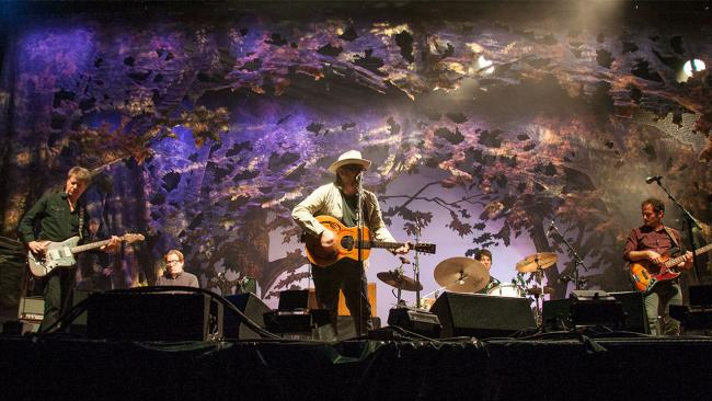 Wilco at the Solid Sound Festival in 2017 (photo by Laura Fedele/WFUV)