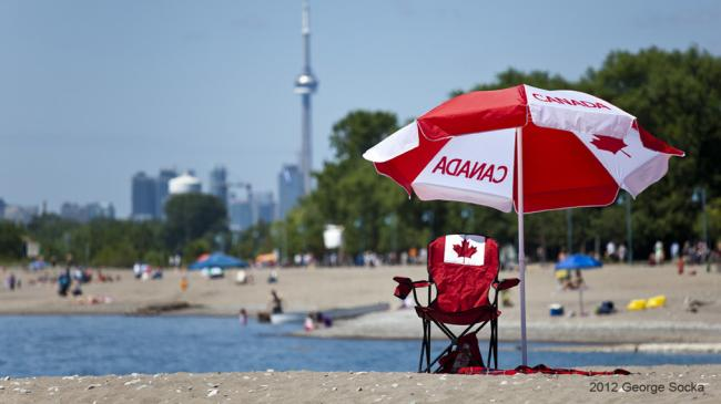 July 2012 Canada Day at Toronto Scarborough Beach
