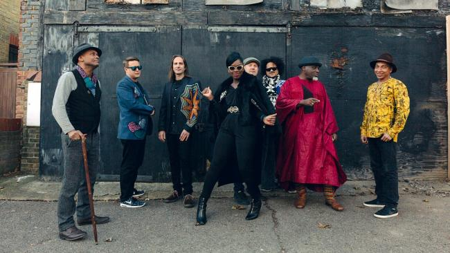 Ibibio Sound Machine (photo by Dan Wilton, PR)